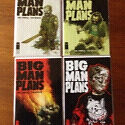 Big Man Plans - 4 Part Comic Mini Series