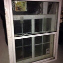 Never installed house window