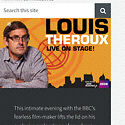Wanted 2x Louis Theroux tickets Blackwood Mitcham Area Preview