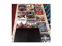 PS3 black super slim comes with 47 games