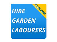 Hire Garden Labourer - Overgrown Garden Clearance, Clean up, Tidy Up, Levelling & Fence Painting