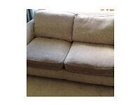 Pair matching DFS 2 seater sofas