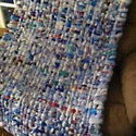 Making milk bag matts for 3rd world countries project