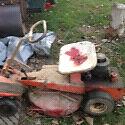 Vintage Arens lawnmower