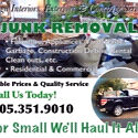 Down Sizing, Junk Removal, Dirty Work.
