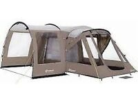 Outwell Carolina 3 Tent + Extension + Carpet + Footprint