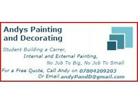 painter, decorator, painting and decorating service, west midlands