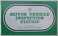Inspections, safety check, safety certificate.