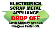 E-WASTE, SCRAP METAL DROP-OFF