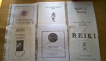 Reiki 1 Manuals 6 different copies