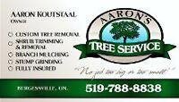 Aarons Tree Service