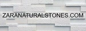 Extra White Luxurious BH 3D Thin Veneer Strips Wall Decore Stone