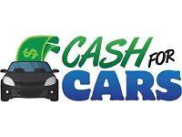 CASH 4 CARS SCRAP CARS VANS MOT FAILURES NON RUNNERS SPARES OR REPAIR ANY CAR VANS NO MOT DAMAGED'