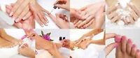 IN HOME MANICURE PEDICURE FOR SENIORS-416-400-8672