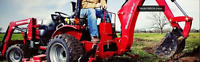 Mini Tractor / Back hoe  Services Tractor and a Man for hire