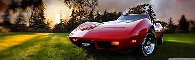 Red Corvette Gifts for Men