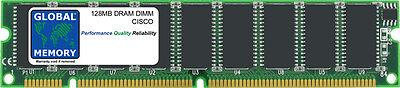 128MB DRAM DIMM Mémoire RAM POUR Cisco Séries 800 routeurs (mem870-128d)