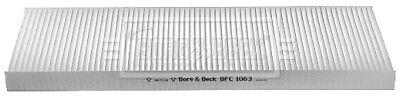 Borg & Beck Interior Air Filter Cabin Pollen BFC1063 - GENUINE - 5 YEAR WARRANTY