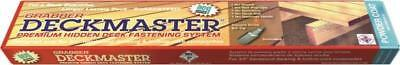 Grabber Dmp100-10 Deckmaster Hidden Deck Bracket System Brn Powder Coat 8744640