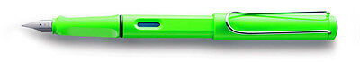 LAMY SAFARI  SPECIAL EDITION FOUNTAIN PEN NEW IN BOX M PT NEON LIME GREEN 2012