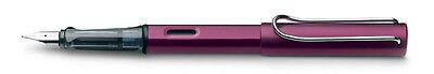 Lamy Al-Star Purple Fountain Pen - model L29F (Fine) - New