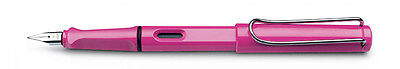 Lamy Safari Pink limited edition Fountain Pen - model L13PKEF (Extra Fine)