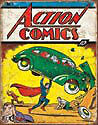 Tin Sign - ACTION COMICS Retro Number 1 cover
