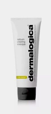 Dermalogica medibac clearing sebum clearing masque (No Box) - 2.5 oz Clear Mask Box