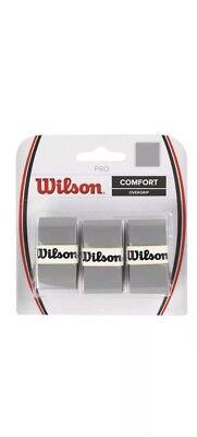 Wilson Ultra Wrap Gray Comfort Over-grip Tennis Racket Sporting WRZ471718 NEW