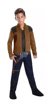 Han Solo Dress Up Costume from Solo A Star Wars Story Size M 8-10 Rubies - Boy From Up Costume