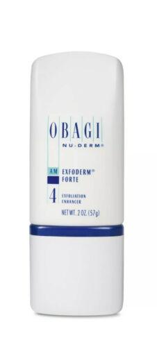 New Obagi Nu-Derm Exfoderm Forte Exfoliant 2 oz Sealed