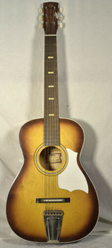 Vintage Conn Continental Music Acoustic Guitar-MADE IN USA