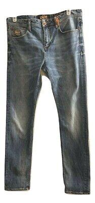 Vintage SuperDry Copper Denim Classics Standard Skinny Jeans Tag Size W34 / L32