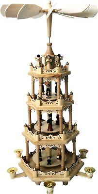 56 cm Weihnachtspyramide Pyramide Weihnachten Erzgebirgische Tradition NEU 60211