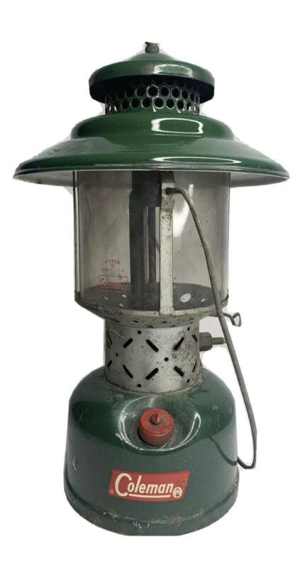 Vintage 8/1962 Coleman 228 Sunshine of The Night Lantern w/ Original Globe
