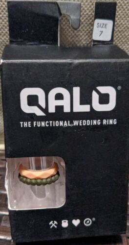 QALO Women s Functional Silicone Wedding Ring , Size 7 - $9.99