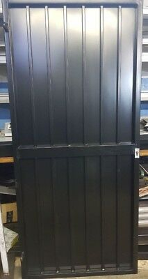 STEEL SECURITY DOOR, GATE. METAL GARDEN SIDE GATE / WROUGHT IRON GATE / GATES