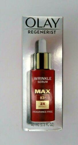 Olay Regenerist Wrinkle Serum MAX Concentration B3+ Fragrance-Free 40mL New