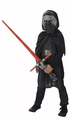 Boys Star Wars Deluxe Kylo Ren Fancy Dress Costume Licensed Book Day Outfit