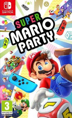 Super Mario Party (Switch)  BRAND NEW AND SEALED - IN STOCK - QUICK DISPATCH