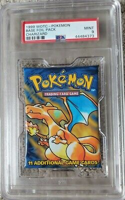PSA 9 - Base Set Pack - Charizard Artwork