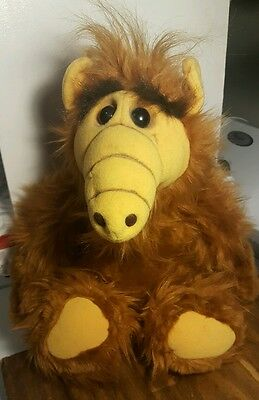 Vintage Alien Productions 1986 ALF Plush Doll Coleco Stuffed toy from TV