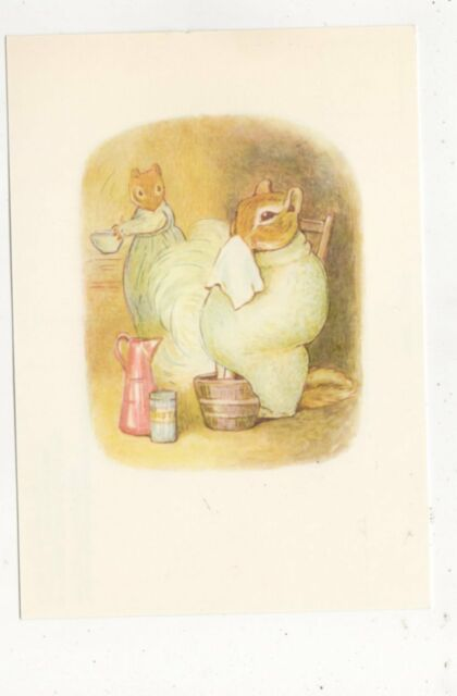 The Tale Of Timmy Tiptoes by Beatrix Potter Postcard 527a