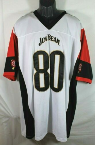 Jim Beam Embroidered Jersey #80 Size XXL