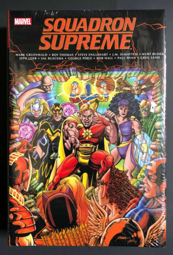 SQUADRON SUPREME CLASSIC OMNIBUS HC Hardcover Factory Sealed Marvel $125 Cover