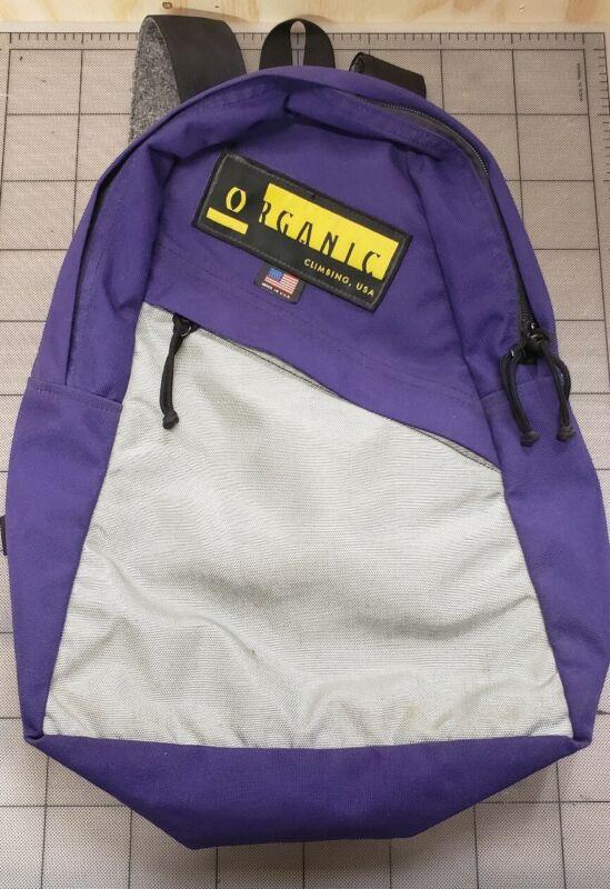 Organic Climbing RETRO BOOK BAG Made in USA