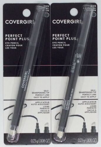 Set of 2 Covergirl Perfect Point Plus Eye Pencils - Charcoal