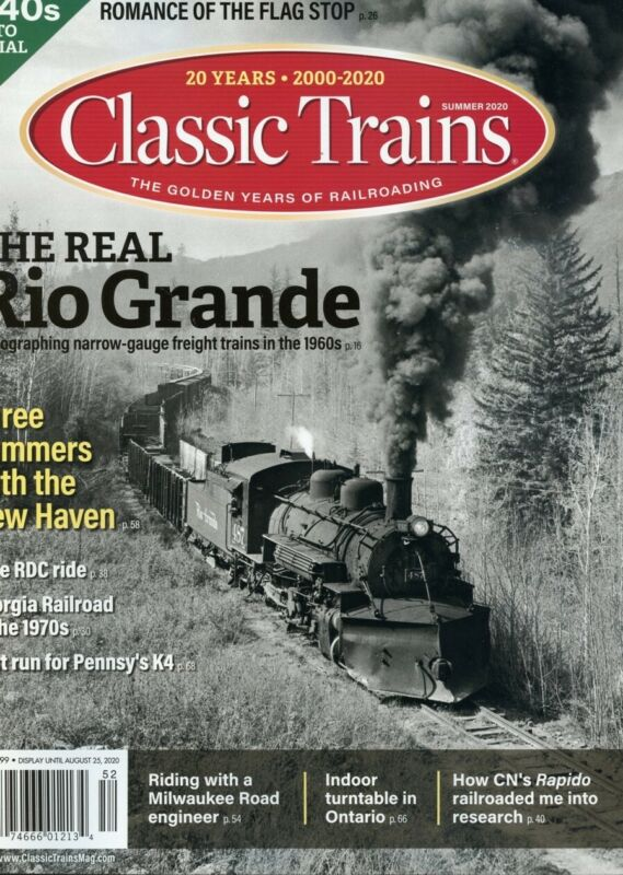 Classic Trains Summer 2020 Trains Magazine Special