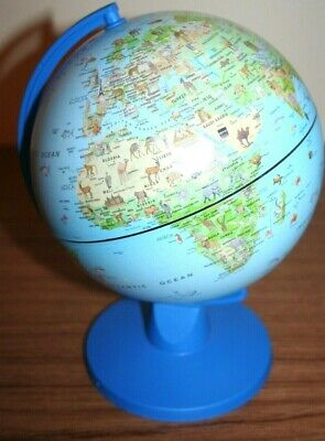 Beautiful Childs Childrens Globe Vibrant Colours Countries and Animals