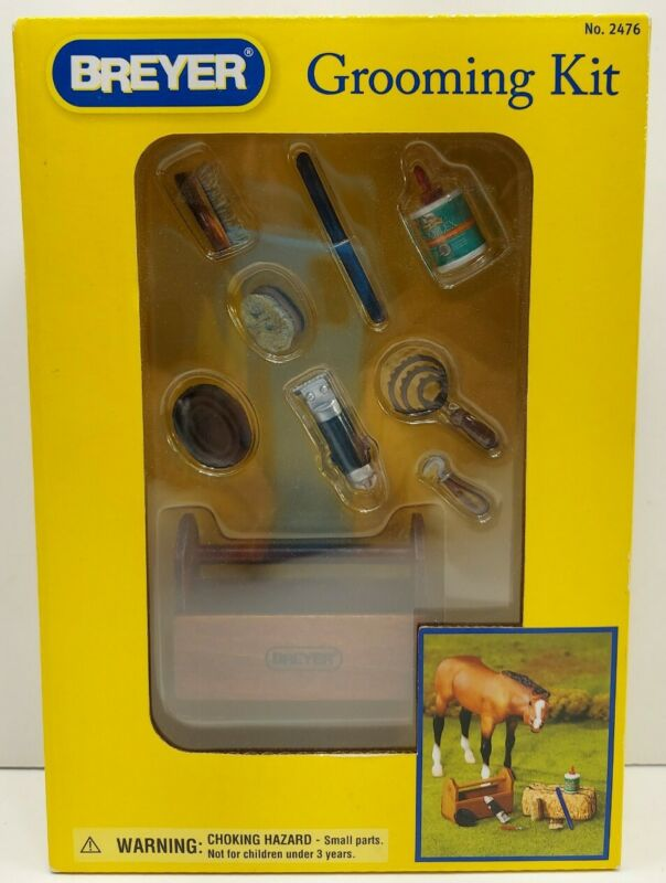 *Brand New* Breyer Horse Grooming Kit For 1:9 & 1:12 Scale Horses & Barns #2476